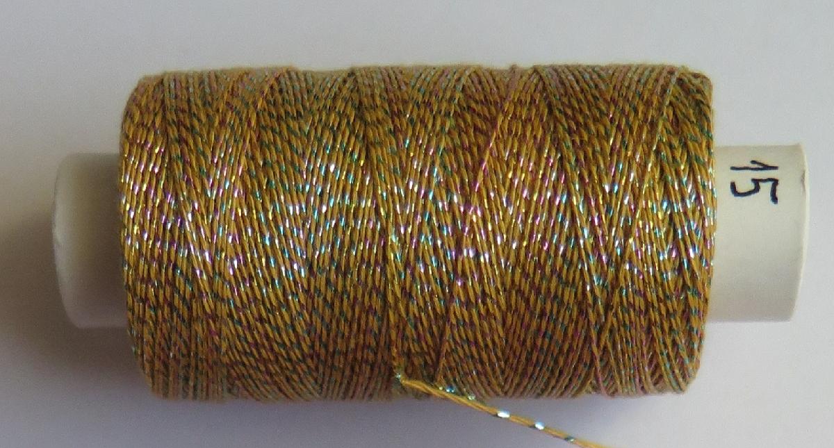 Andrea 015 žlutá/trojbarva