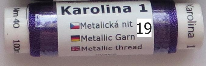 Karolína 1, barva/color/ č.19