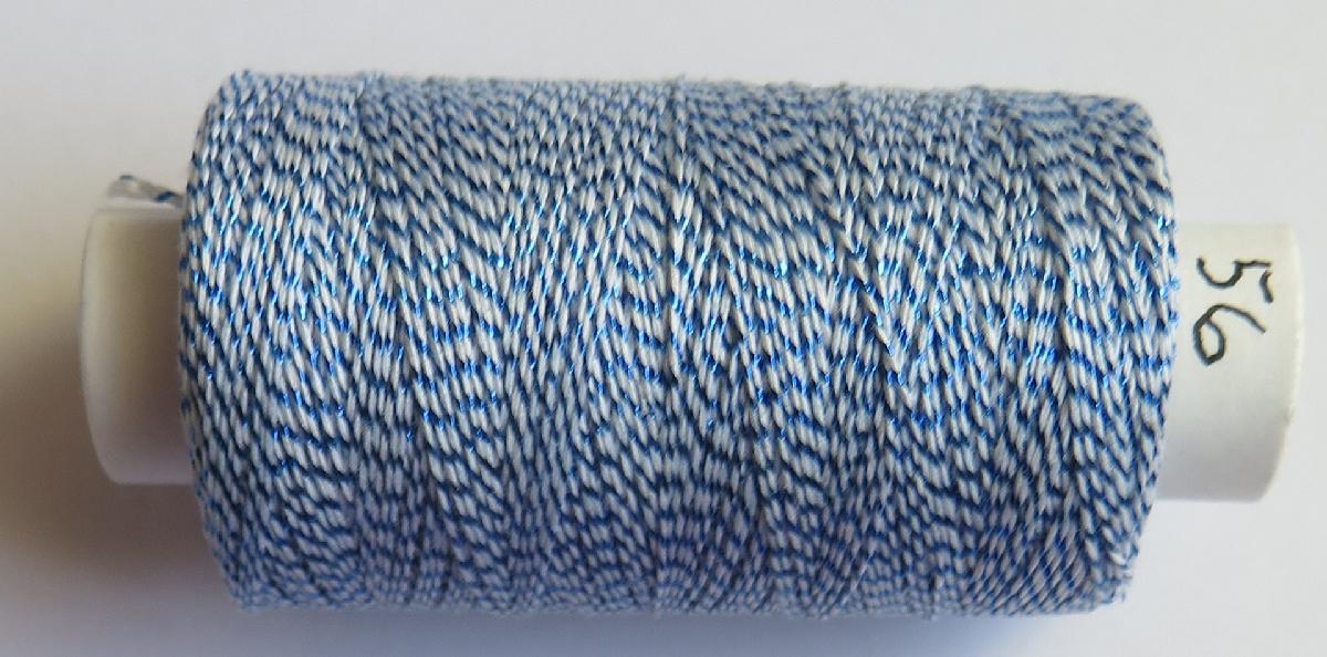 Andrea 56 bílá/tm.modrá