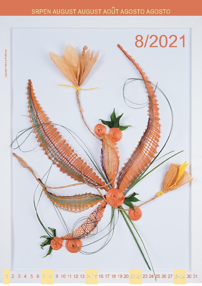 Krajkářský kalendář 2021