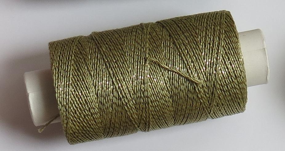 Andrea šedozelená/zlato 106322/26
