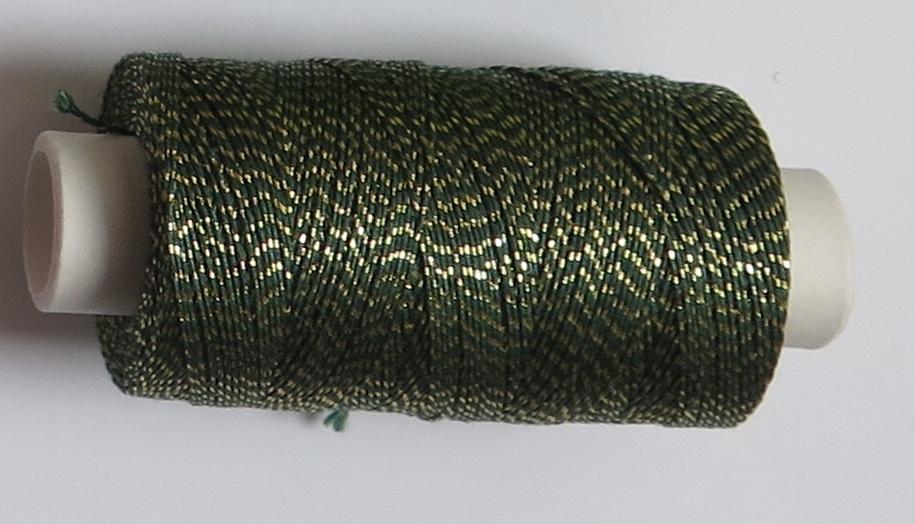 Andrea zelená tm/zlato 106882/26