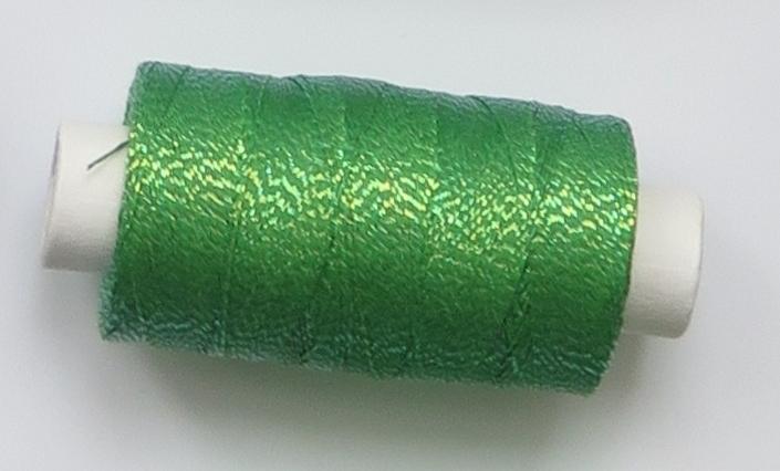 obuvnická + metalika  zelená/sv zlatá