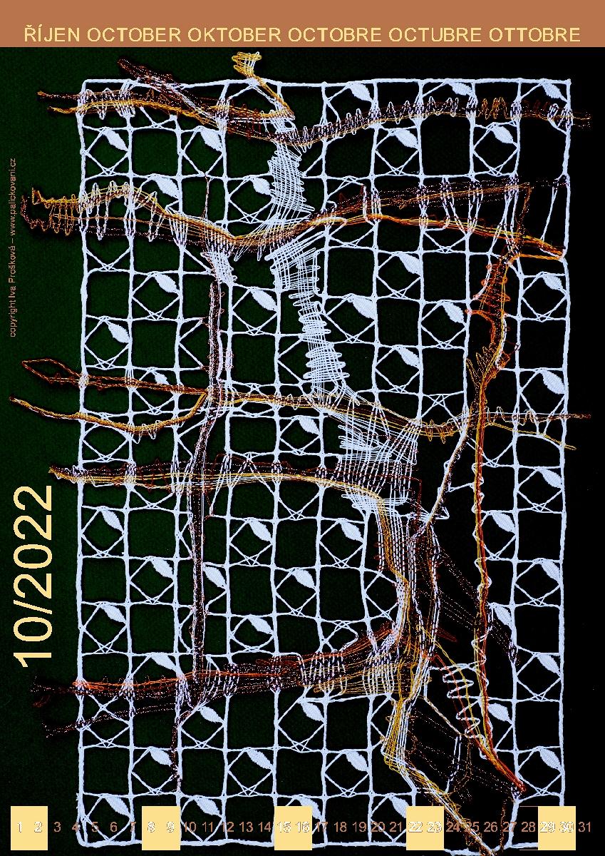 Krajkářský kalendář 2022