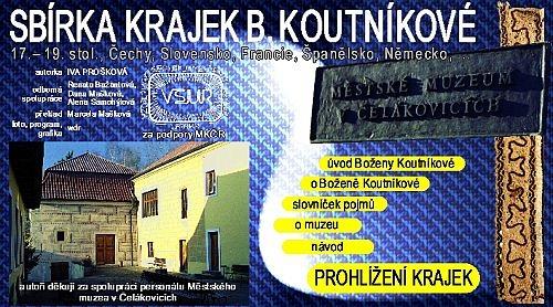 CD-ROM - Sbírka B. Koutníkové