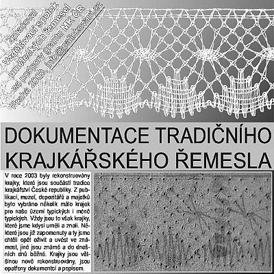 CD-ROM Dokumentace tradičního krajkářského řemesla