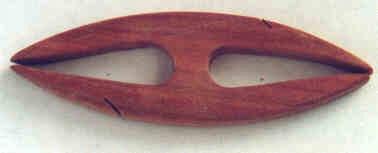 Frivolitkový člunek, ruční výroba - 7 cm