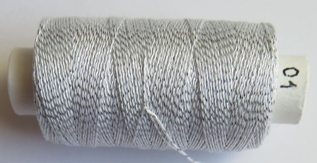 Andrea 01 bílá/stříbro