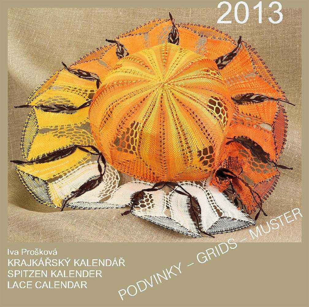 12x Krajkářský kalendář 2013 (podvinky - CD)