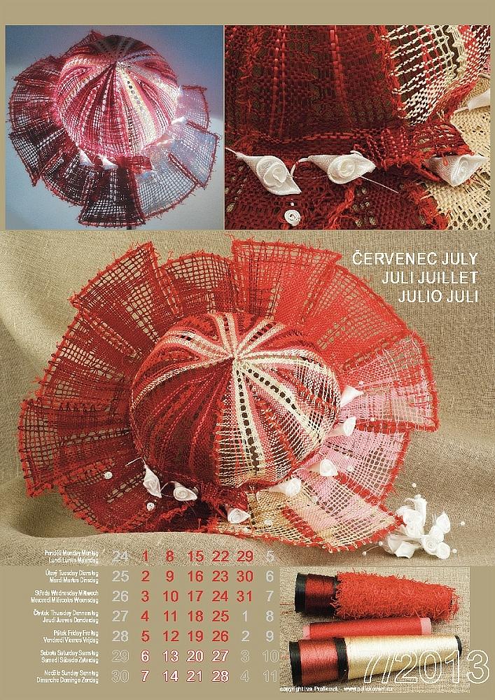 Krajkářský kalendář 2013