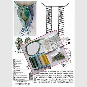 Náhrdelník + náušnice - set