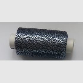 obuvnická + metalika  modrá/stříbro