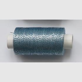 obuvnická + metalika  modrá sv/stříbro