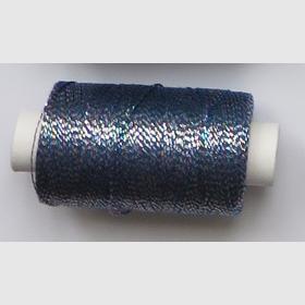 obuvnická + metalika  modrá tm/trojbarva