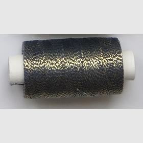 obuvnická + metalika  modrá/zlatá