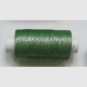 obuvnická + metalika  zelená/trojbarva