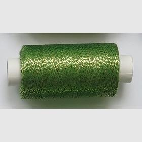 obuvnická + metalika  zelená/tm zlatá