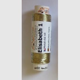 nit ELISABETH 1 zlatá