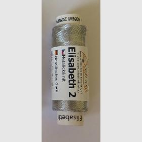 nit ELISABETH 2 stříbrná