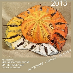 12x Lace Calendar 2013 (Grids - CD)
