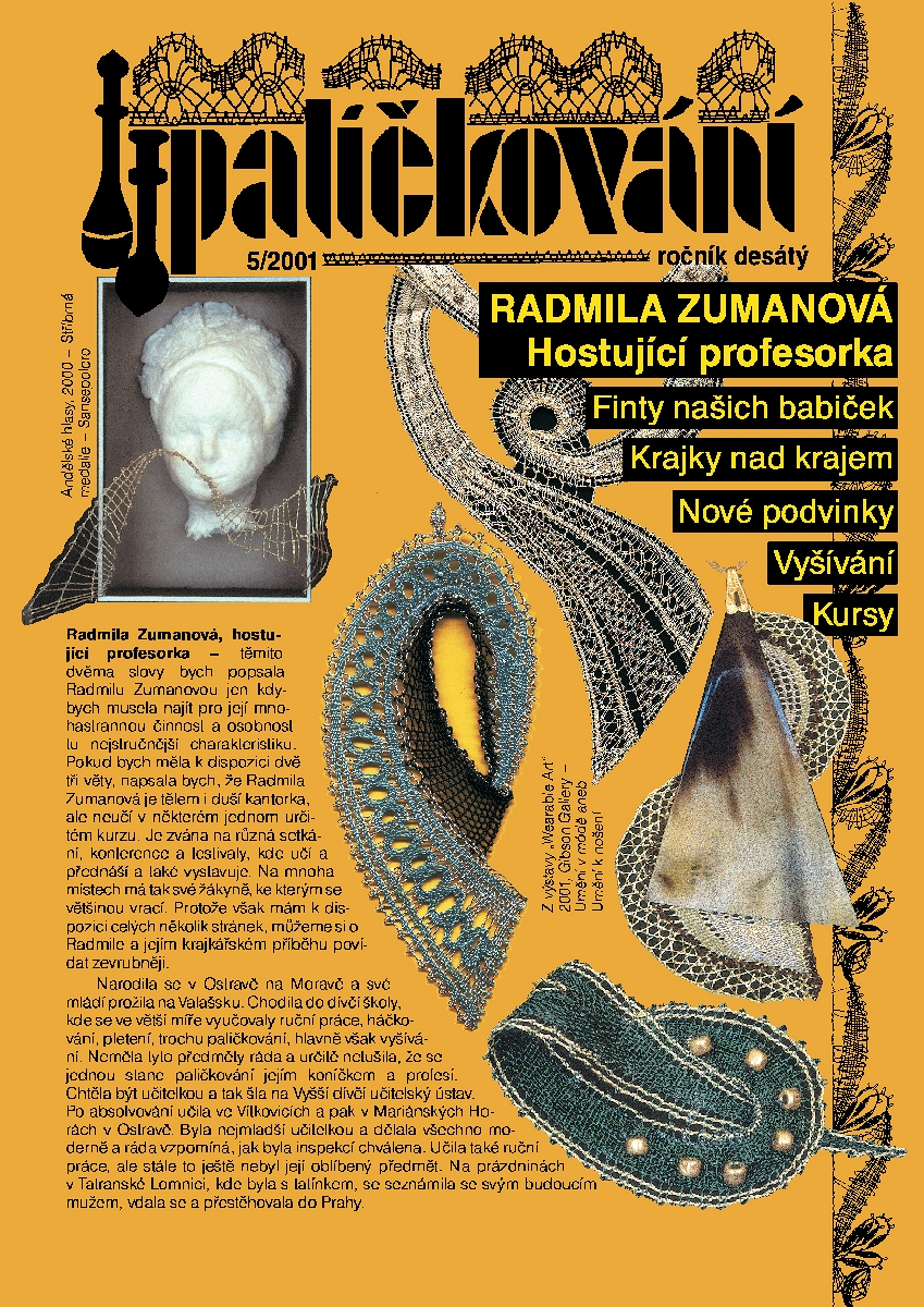 CD-ROM časopis Paličkování ročník (obsahuje podvinky) 2001