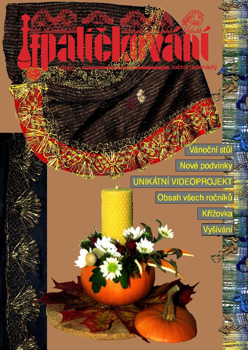 CD-ROM časopis Paličkování ročník (obsahuje podvinky) 2002