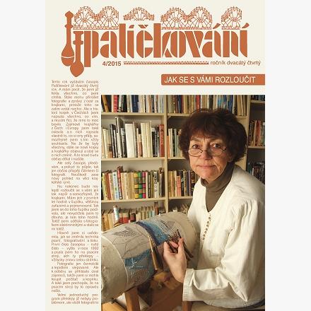 CD-ROM časopis Paličkování ročník 2015